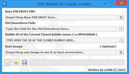 TNVBubbleISOLoaderCreator