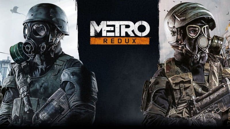 Metro Redux Ps4 Games Wallpaper Background