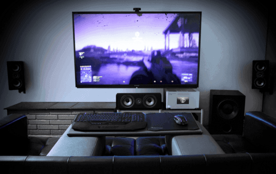 gaming PC with 500