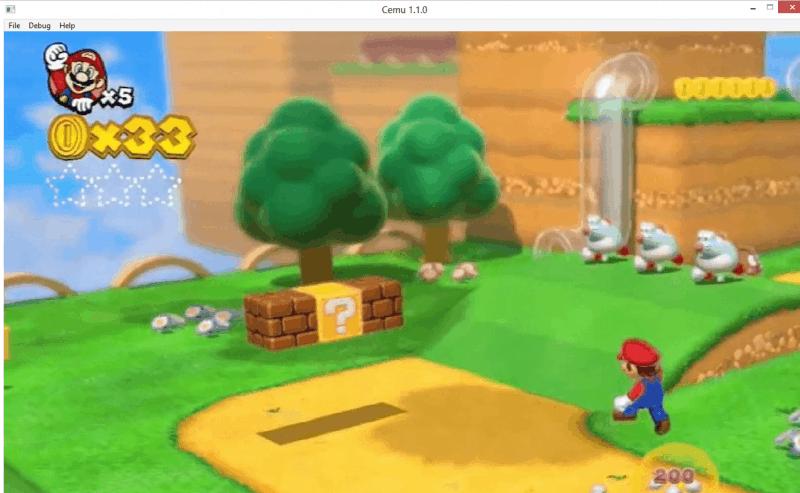 Wiiu Cemu 1.1.0