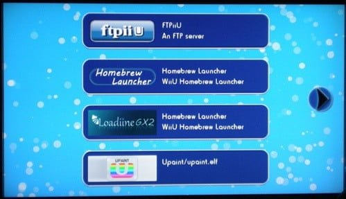 Homebrew Launcher for WiiU Firmware 5 3 2/5 4 0 by Dimok