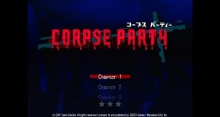 Corpse Party Main Screen