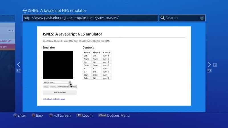 Emulators Running on PS4 FW 3 15 & 3 50 without any exploit