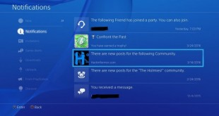 Hackinformer community on the PS4 (2)