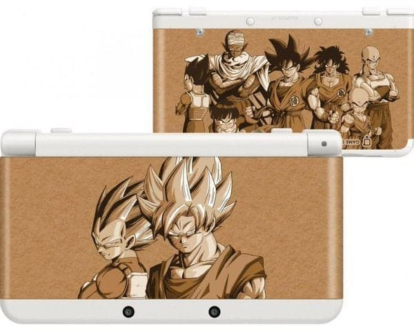 New 3DS dbz Cover Plates