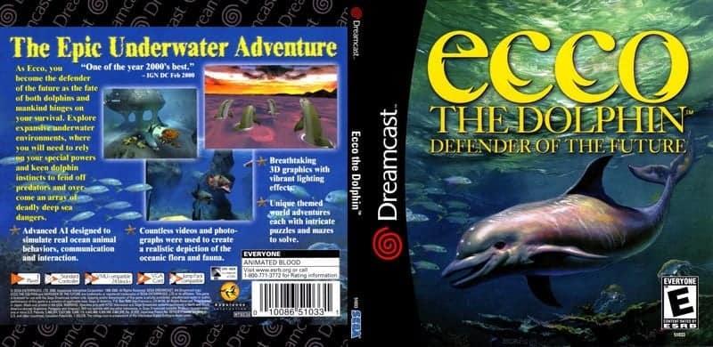 Ecco the Dolphin - Defender of the Future (Sega) [NTSC-U]