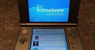 New 3DS XL Homebrew Launcher