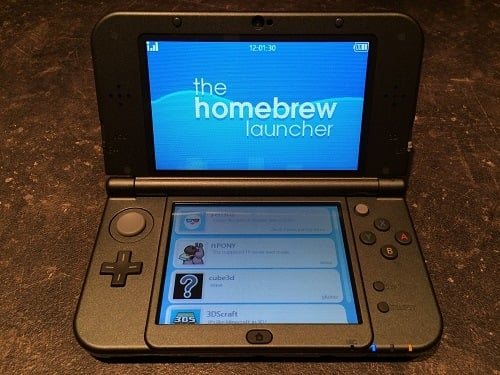 New 3DS XL Homebrew Launcher