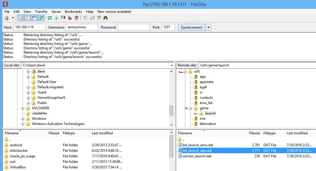 PSTV whitelist hax FW3.60