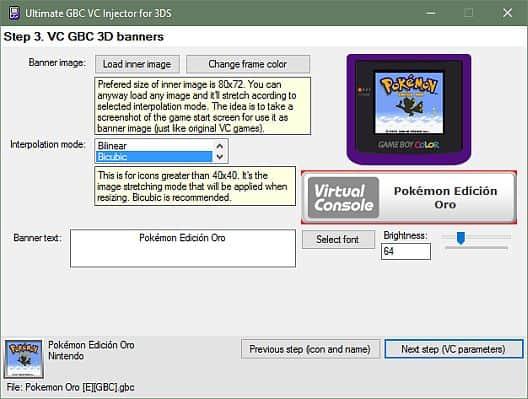 3DS: Ultimate GBC VC Injector v1 3 Released! - Hackinformer