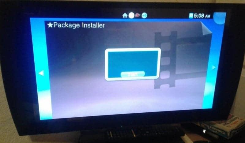 PSTV package installer1