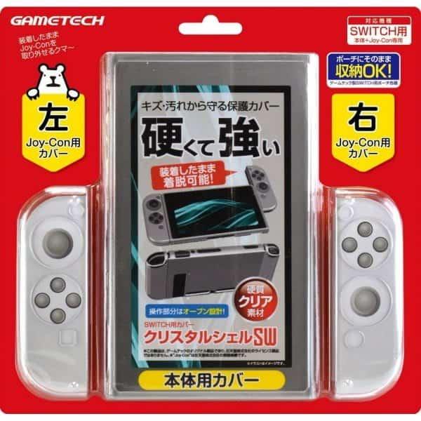 Nintendo Switch Crystal Shell