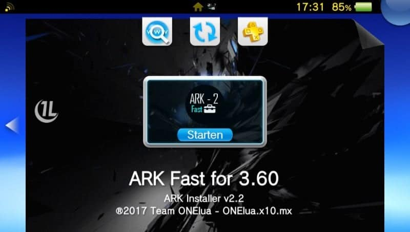 ArkFast adds the ability to clone PSP Bubbles - Hackinformer