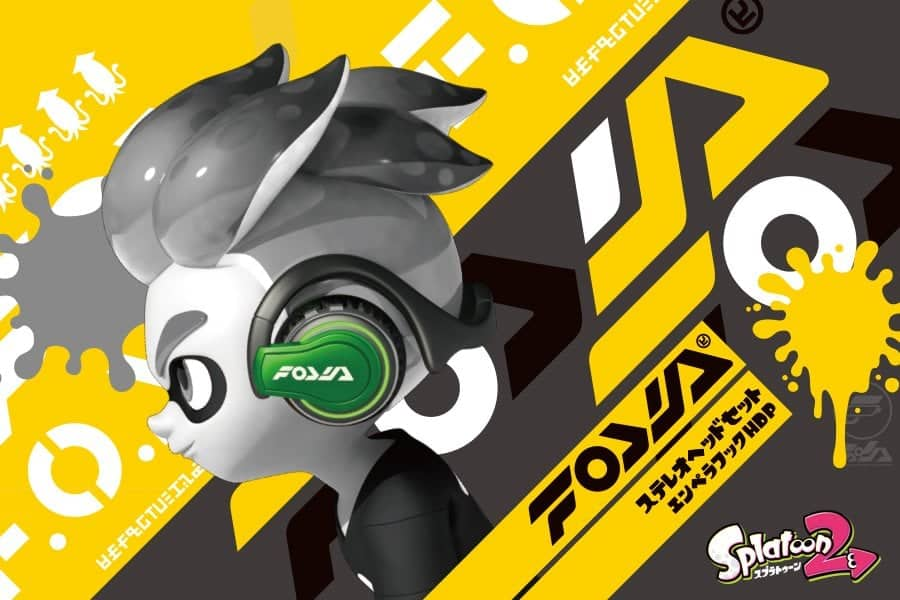 Hori Splatoon 2 Stereo Headset