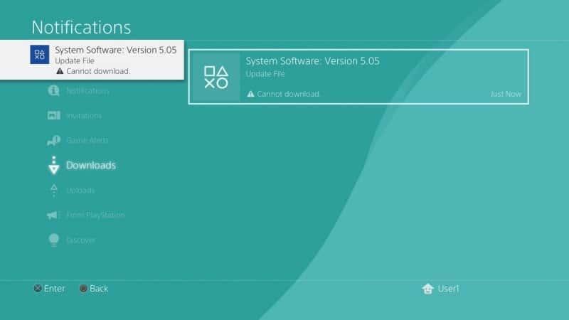 Block PS4 updates