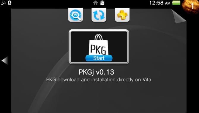 PSVita: PKGj gets updated for multiple downloads! - Hackinformer