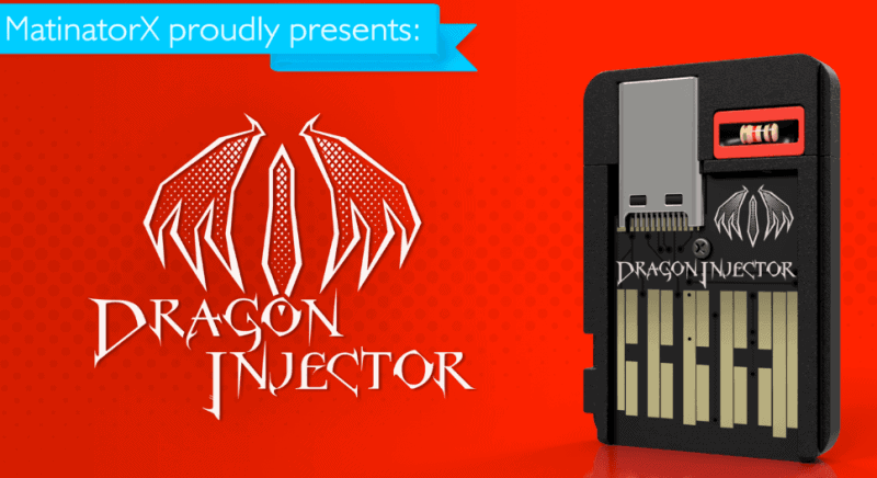 Dragon Injector another Nintendo Switch modchip in the works