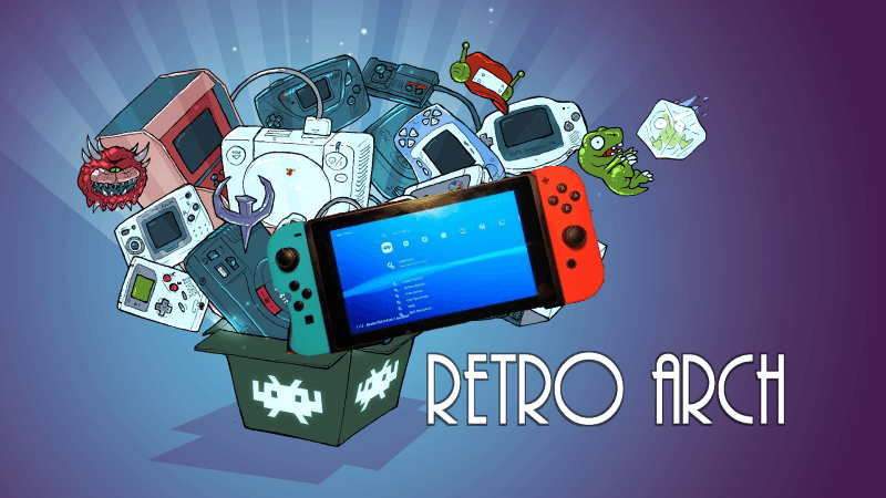 RetroArch officially released for the Nintendo Switch