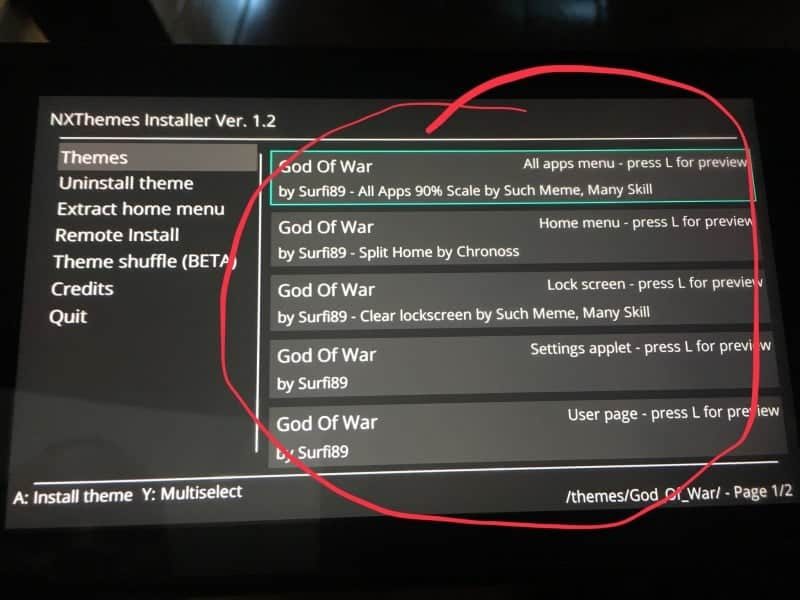 How to install NX themes to your Nintendo Switch - Hackinformer
