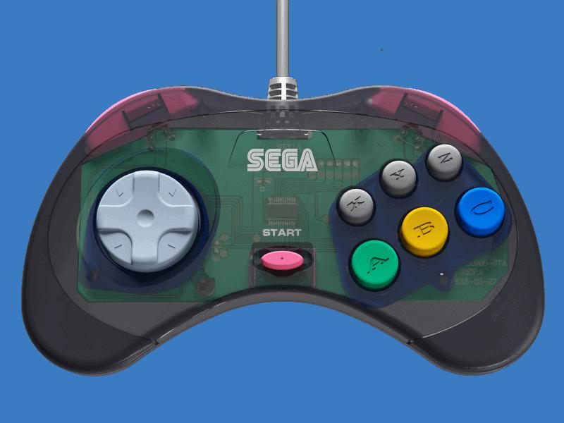 Review: Retro-Bit's Sega Controllers - Hackinformer