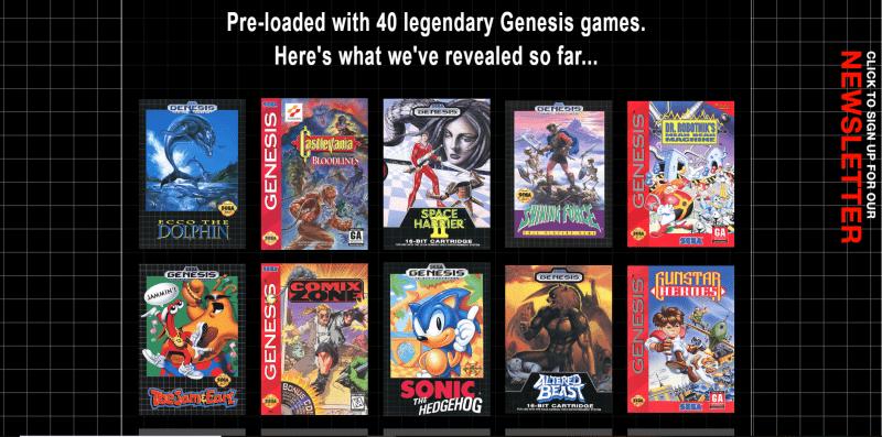 Genesis Mini News